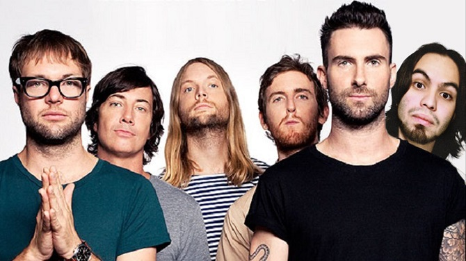 If I Never See Your Face Again - Maroon 5 feat. Cross
