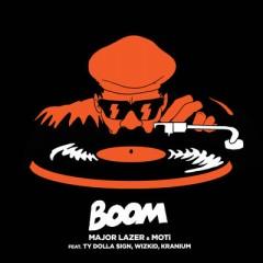 Boom - Major Lazer Feat. Moti