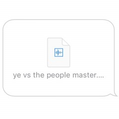 Ye Vs The People - Kanye West