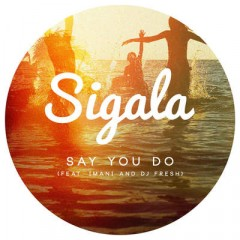 Say U Do - Sigala Feat. Imani & Dj Fresh