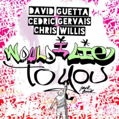 Would I Lie To You - David Guetta, Cedric Gervais, Chris Willis