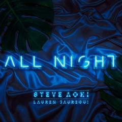 All Night - Steve Aoki & Lauren Jauregui